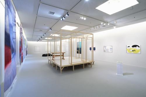 「京芸 transmit program 2018」展示風景(京都市立芸術大学ギャラリー @KCUA、2018)photo by Takeru Koroda