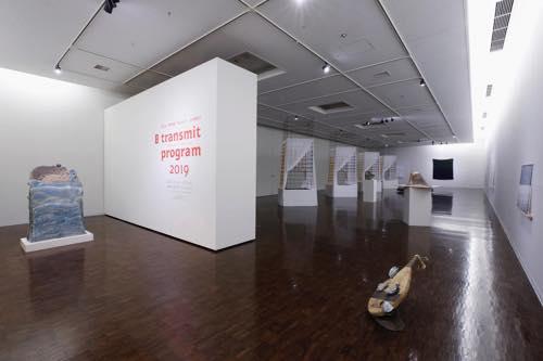 「京芸 transmit program 2019」展示風景(京都市立芸術大学ギャラリー@KCUA、2019)Photo by Takeru Koroda
